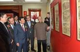 Des peintures sur le Nouvel An lunaire du Vietnam exposées en Chine