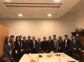 Une délégation du Parti en visite de travail aux Pays-Bas