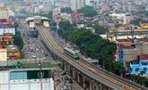 Hanoï disposera de dix lignes ferroviaires urbaines en 2050
