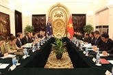 Dalogue stratégique au niveau des vice-ministres des AE et de la Défense