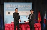 Lancement de l'organisation éducative Embassy Education au Vietnam