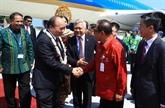 Indonésie: le Premier ministre Nguyên Xuân Phuc est arrivé à Bali