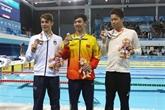Jeux olympiques de la jeunesse dété: deuxième médaille dor remportée par le Vietnam