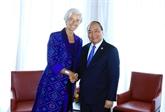 Le PM Nguyên Xuân Phuc rencontre la directrice générale du FMI à Bali
