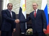 Visite d'État du président égyptien Abdel Fattah al-Sissi en Russie
