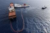 Il reste moins de 2% du carburant échappé en mer selon la préfecture