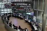 La Bourse de Paris en recul guidée par la prudence