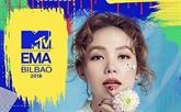 Minh Hang nominée lArtiste de lAsie du Sud-Est à MTV EMA 2018