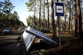 L'ouragan Leslie prive 70.000 habitants d'électricité au Portugal
