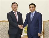 Le groupe Shinhan Card appelé à développer la fintech au Vietnam