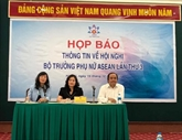 Hanoï accueillera la 3e conférence des ministres de la Femme de l'ASEAN