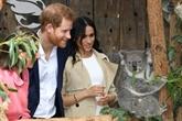 Harry et Meghan reçoivent des cadeaux pour bébé et rencontrent des koalas