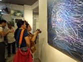 Exposition des beaux-arts Rencontre 2018 à Hô Chi Minh-Ville