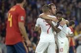 Ligue des nations: la jeune Angleterre solde une vieille dette en Espagne