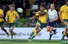 Rugby: les Wallabies porteront un maillot aux décorations aborigènes en Angleterre