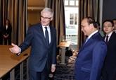 Nguyên Xuân Phuc rencontre les ministres des régions flamande et wallonne de Belgique