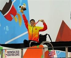 Le Vietnam 12e des 3es ASIAN Para Games