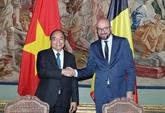 Déclaration commune Vietnam - Belgique