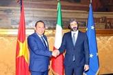 Le vice-PM Truong Hoà Binh rencontre le président de la Chambre des députés d'Italie