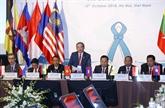 Les pays de l'ASEAN persistent à construire une communauté sans drogue
