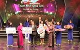 Hô Chi Minh-Ville: près de 40 milliards de dôngs en faveur du fonds Pour les pauvres
