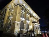 Illumination du Musée de beaux-arts de Hô Chi Minh-Ville