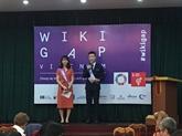WikiGap Vietnam vise à améliorer la représentation des femmes sur Internet