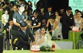 Mariage collectif pour 40 couples handicapés à Hô Chi Minh-Ville