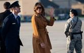 Melania Trump part pour l'Afrique en solo