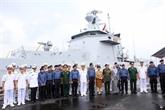Un navire de la marine brunéienne en visite de courtoisie à Dà Nang