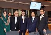 Clôture du 12e Sommet de l'ASEM