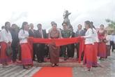 Le 11e monument de l'amitié Vietnam - Cambodge est inauguré au Cambodge