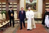 Le vice-PM Truong Hoà Binh rencontre les dirigeants du Vatican