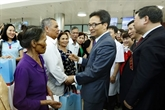 Inauguration des succursales des hôpitaux Bach Mai et Viêt Duc