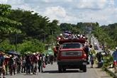 Migrants: Trump coupe les aides à trois pays d'Amérique centrale