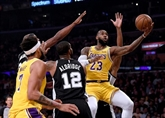NBA: LeBron James héros malheureux, les Lakers encore défaits