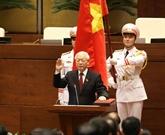Félicitations au nouveau président vietnamien Nguyên Phu Trong