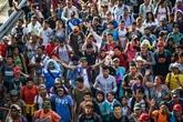Les migrants honduriens vers les États-Unis font une pause au Mexique
