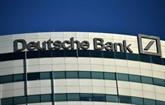 Deutsche Bank affiche des résultats en forte baisse