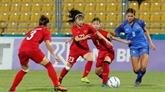 Les footballeuses vietnamiennes déterminées à passer la première phase du Championnat d'Asie