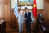 Le Vietnam et l'Uruguay veulent renforcer leurs liens économiques