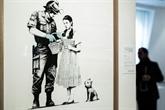 Des œuvres de Banksy vendues à Paris, mais pas de coup d'éclat