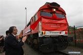 La Chine et la Belgique lancent une nouvelle ligne ferroviaire de fret