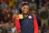 Mondiaux-2018 de gym: la reine Biles fait son grand come-back
