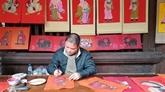Exposition de six mouvements de peintures folkloriques du Vietnam