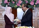 Le PM Nguyên Xuân Phuc reçoit le vice-Premier ministre malaisien