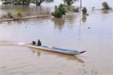 La saison des crues dans le Sud-Ouest du Vietnam
