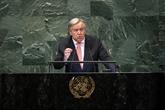 Guterres déplore la faible participation des femmes aux processus de paix