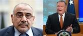 Pompeo s'entretient avec les nouveaux Premier ministre et ministre des AE irakiens