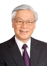 Secrétaire général du CC du PCV - président Nguyên Phu Trong